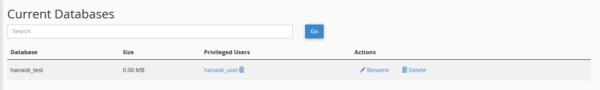 نحوه ساخت Database در cPanel