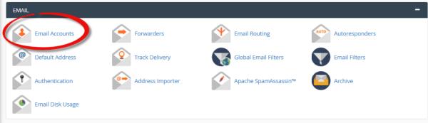 نحوه ساخت ایمیل در cPanel